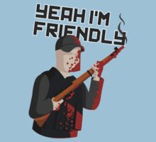 Yeah I'm Friendly | Unisex T-Shirt