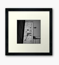 The Ascent Of Man Framed Print