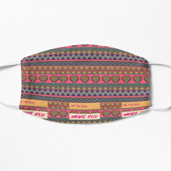 South American folk Art with Mexico abstract art Decorations South central American patterns Flat Mask