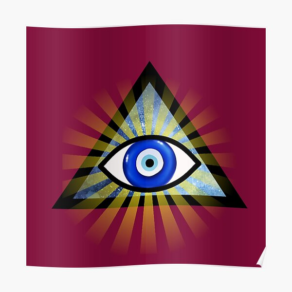 Evil Eye Protection - All Seeing Eye Poster