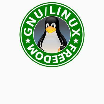 Tux : GNU/LINUX FREEDOM by arthurreeder
