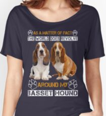 Basset Hound Women's Relaxed Fit T-Shirt