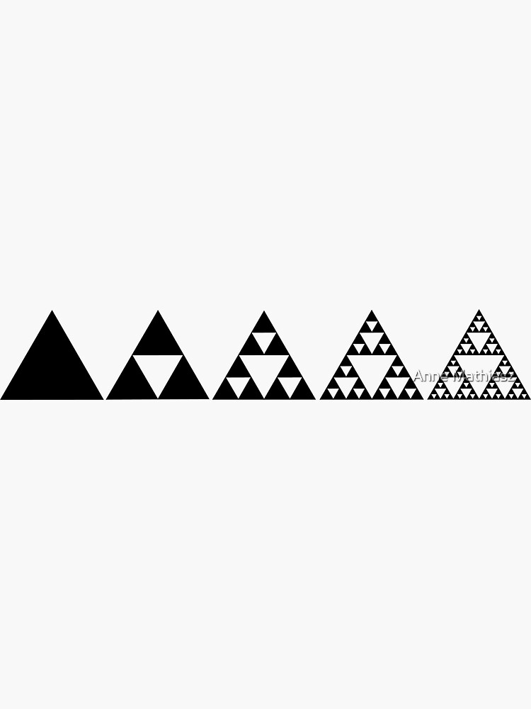 Sierpinski, Triangle, Mathematics, Fractal, Math, Geometry by nitty-gritty