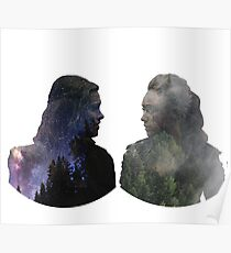 Clexa - The 100 - Face to Face Poster