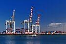 Fremantle Harbour - Western Australia  by EOS20