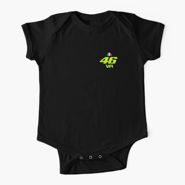 Valentino Rossi - Moto Circuits Short Sleeve Baby One-Piece
