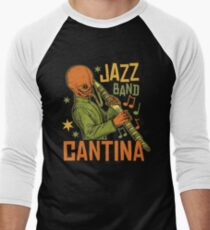 Cantina Jazz Band Men's Baseball ¾ T-Shirt