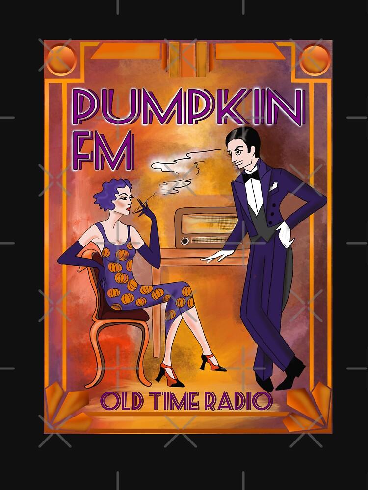 Pumpkin Fm Old Time Radio twenties vintage by GabriellaParadi