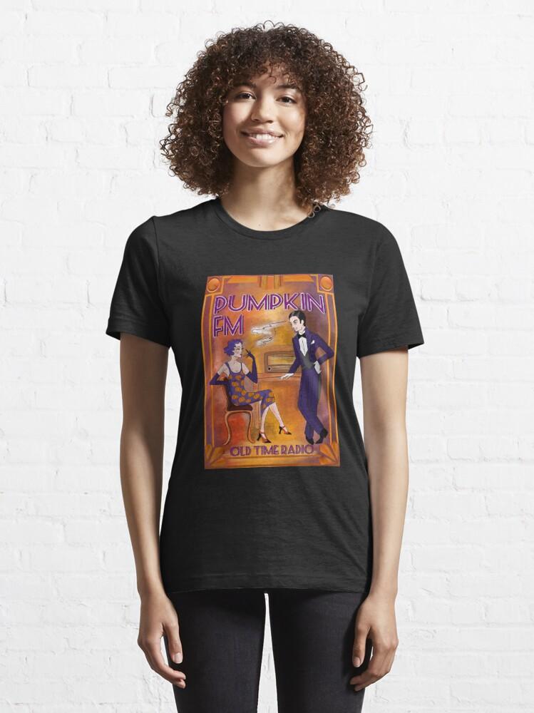 Alternate view of Pumpkin Fm Old Time Radio twenties vintage Essential T-Shirt