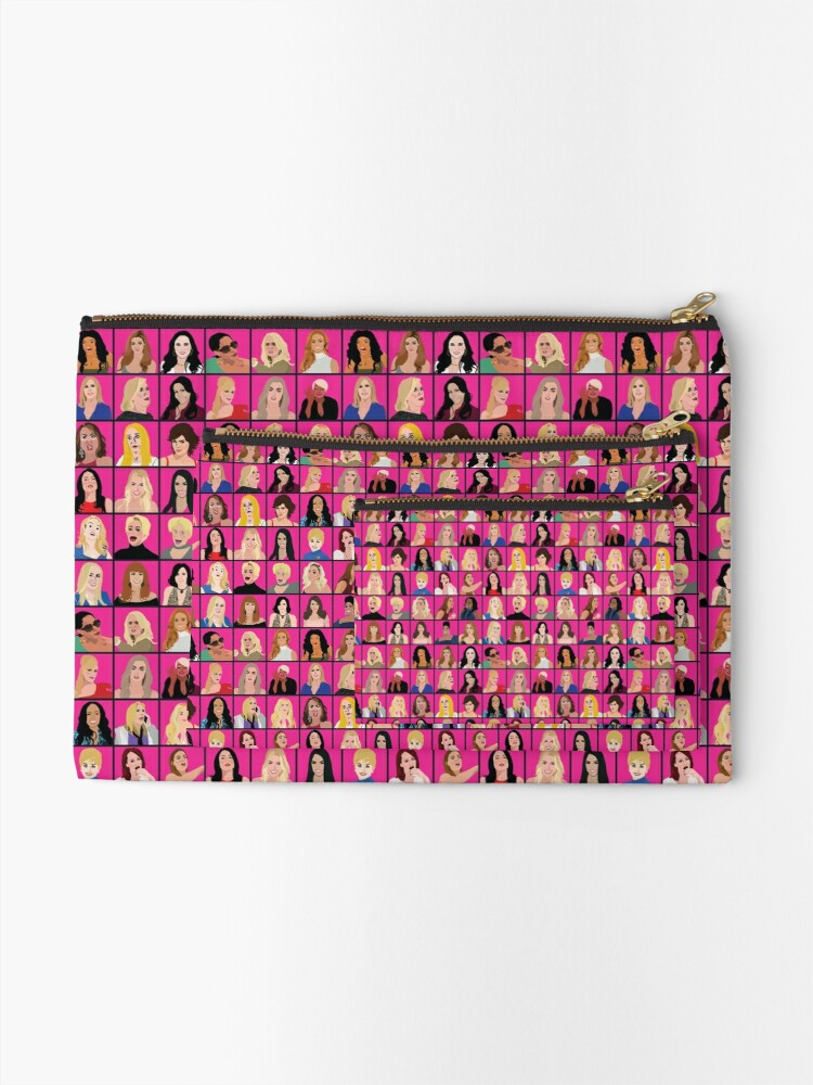 Alternate view of Real Housewives All Stars Zipper Pouch