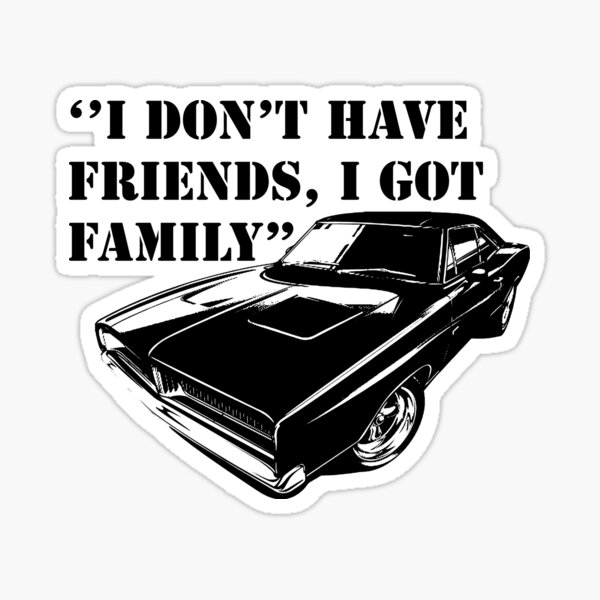 Fast And Furious  Sticker