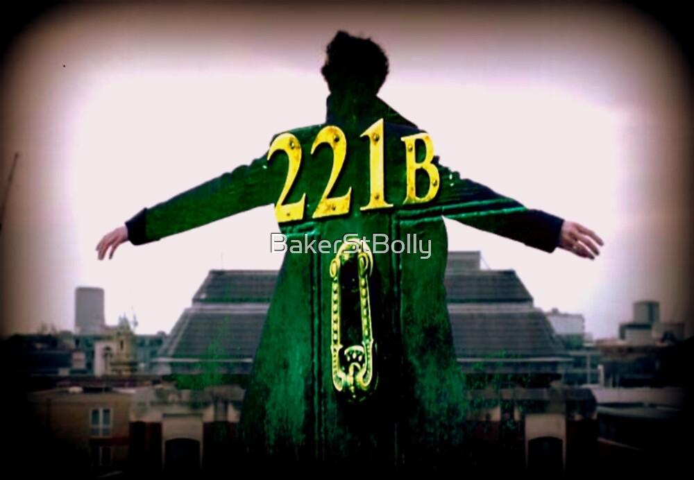 Sherlock 221B  by BakerStBolly