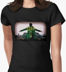 Sherlock 221B  Womens Fitted T-Shirt