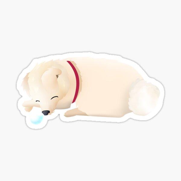 Taz The Sleepy Dog Sticker