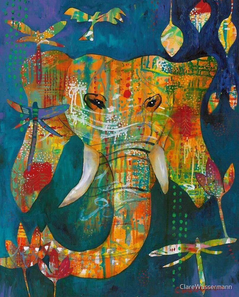 Ganesha by ClareWassermann