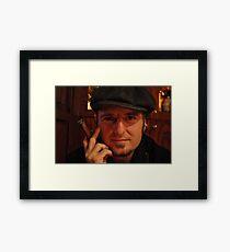 My friend Steven Framed Print
