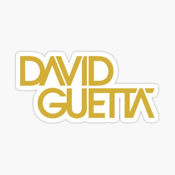 MEJOR PARA COMPRAR - Logotipo de David Guetta Pegatina