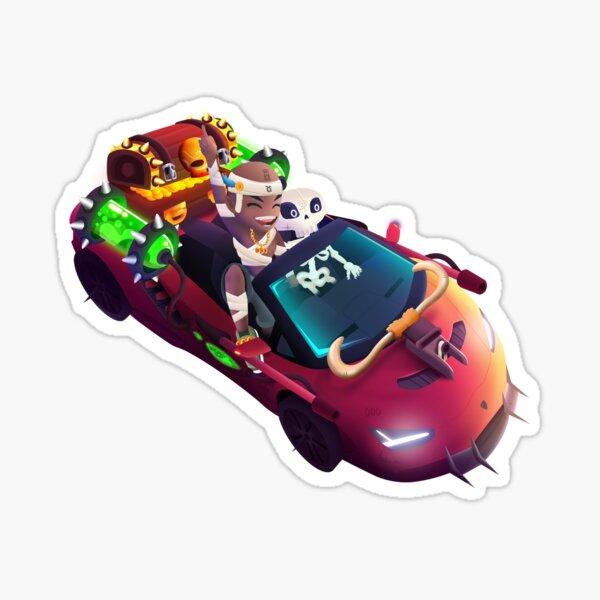 Egyptian Racer Sticker