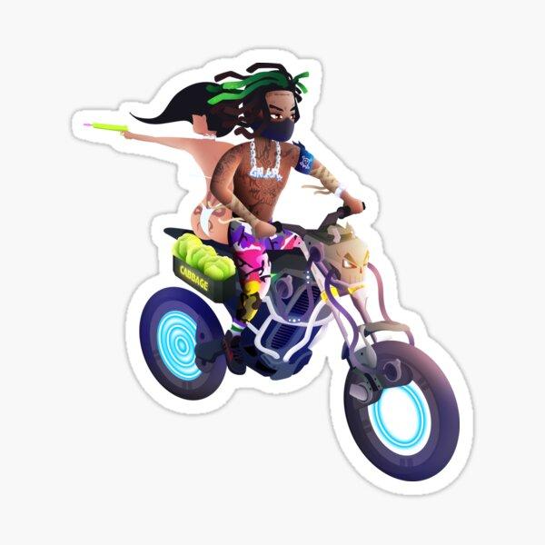 Motorcycle Bandit Sticker