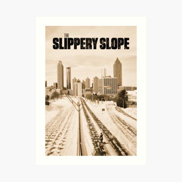 Atlanta Icepocalypse - PAX - Slippery Slope Art Print