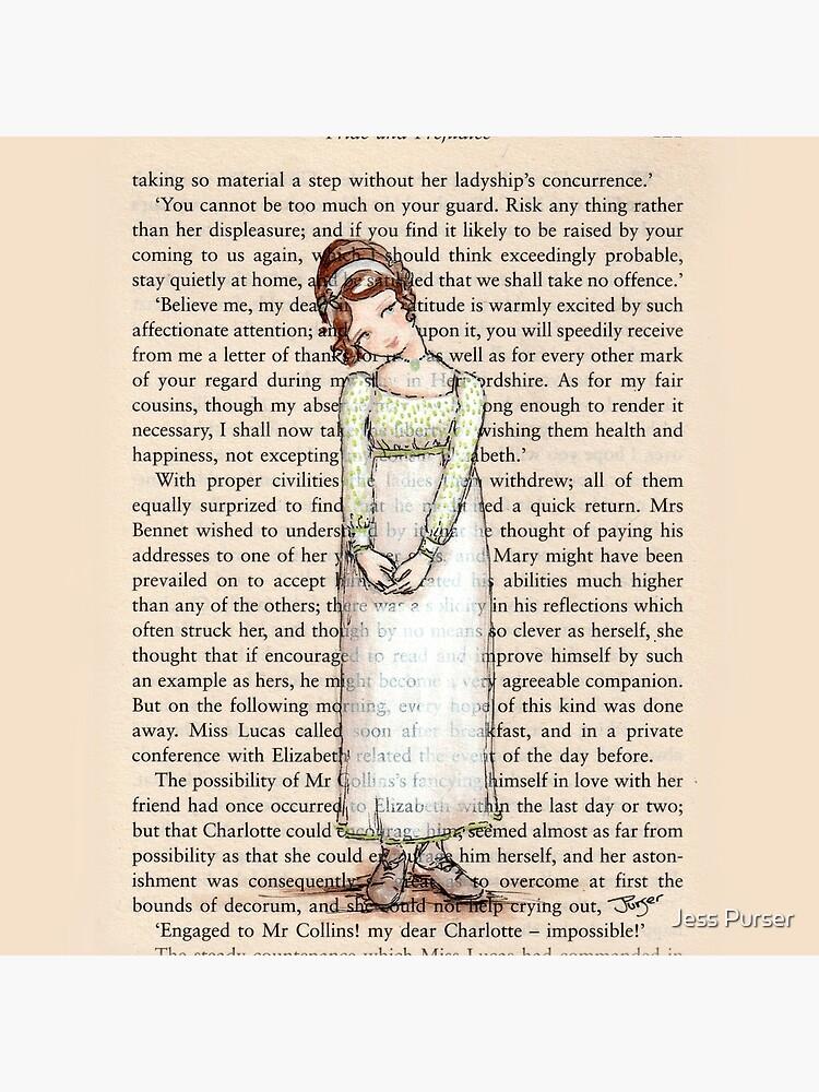 Pride and Prejudice - Elizabeth Bennet in White. by Purrr