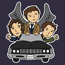 Supernatural Car Ride by beckadoodles
