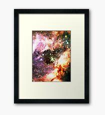 Colorful Celestial Stars | Messier Headula Framed Print