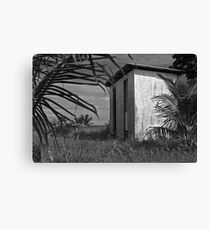 Seaside shack, Hopkins, Belize Canvas Print