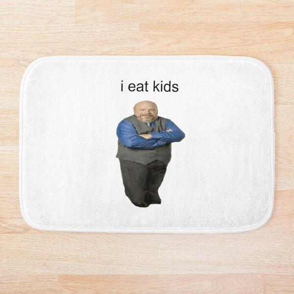 bertram eats kids Bath Mat