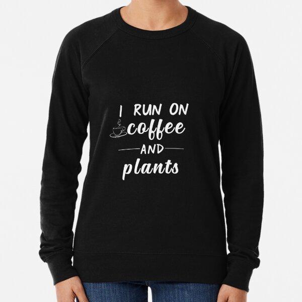 Vegetarian and coffee lover  Lightweight Sweatshirt