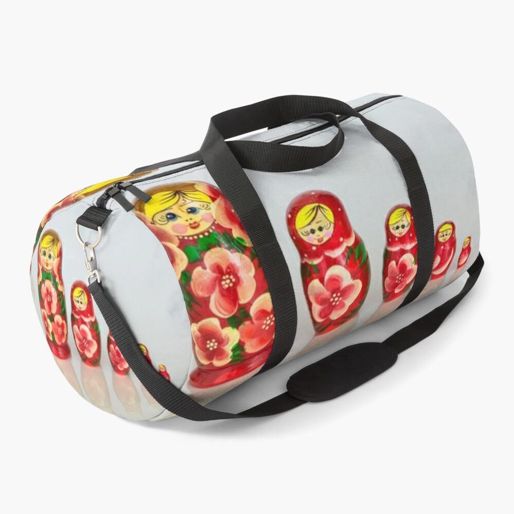 Russian Matryoshka Dolls Duffle Bag
