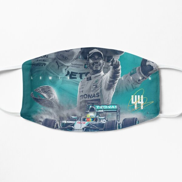Wallpaper Lewis Hamilton Flat Mask