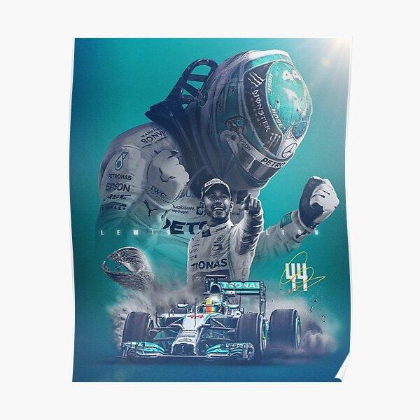 Fondos de pantalla Lewis Hamilton Póster