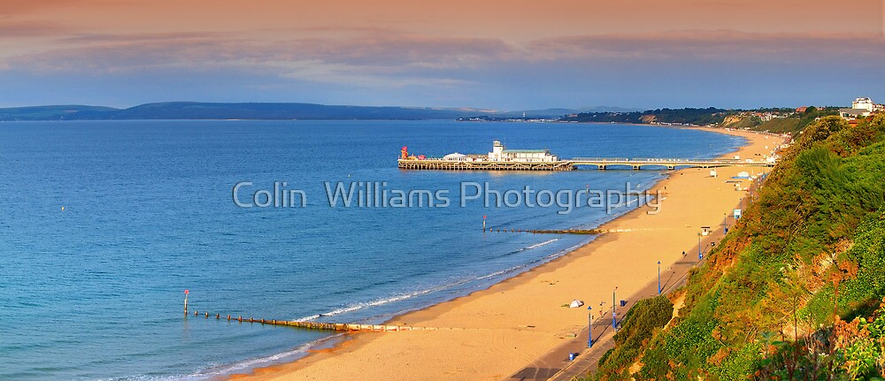 Bournemouth In The Morning !! - Panorama by Colin  Williams Photography