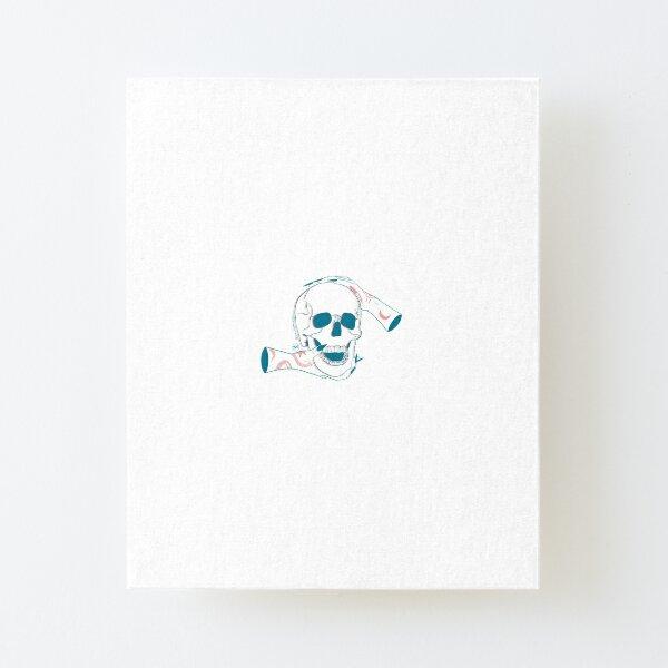 Skull 2.0 Canvas Mounted Print