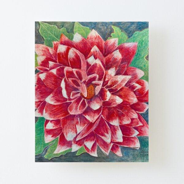 Beautiful Flower  Canvas Mounted Print