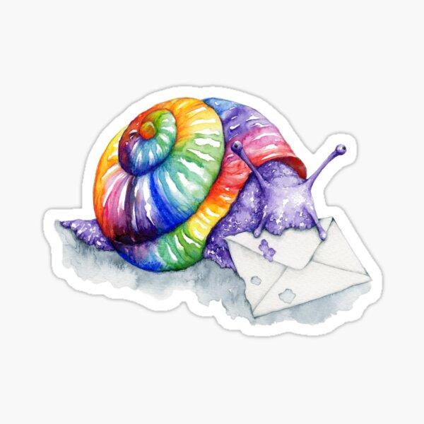 Rainbow Snail Mail  Sticker