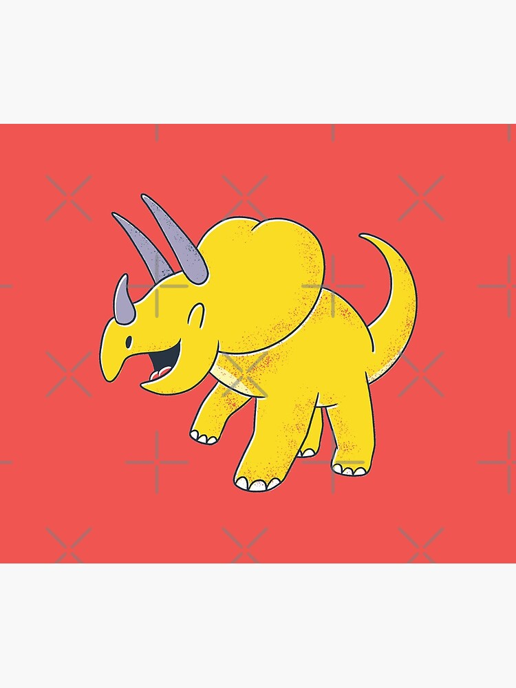 CUTE TRICERATOPS DESIGN by m7md454