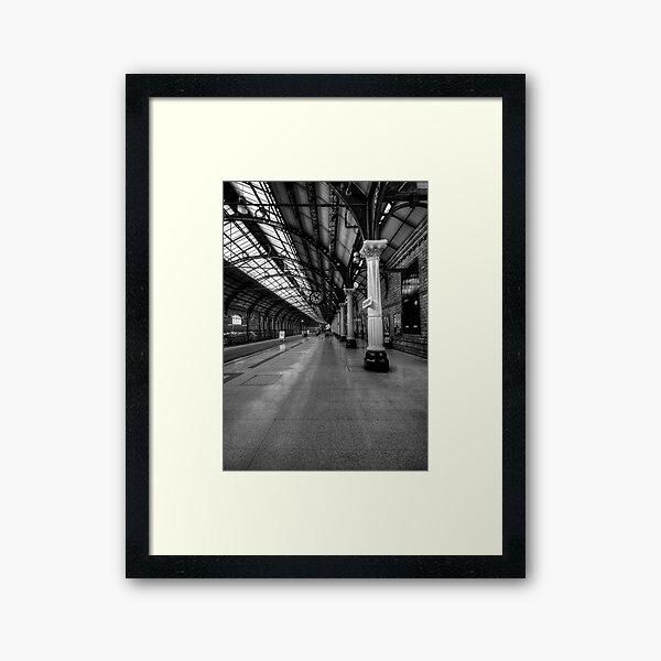 Darlington Railway Station Framed Art Print