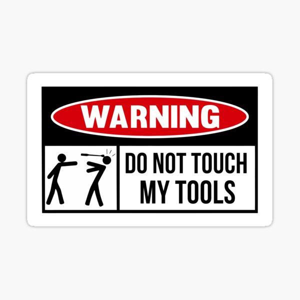 Toolbox Warning sign Sticker