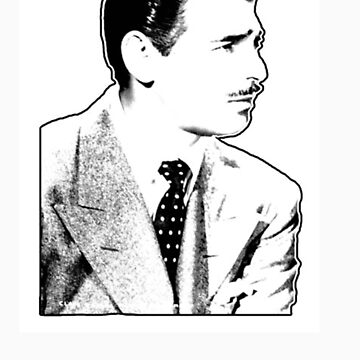 Clark Gable  by Lalistaire