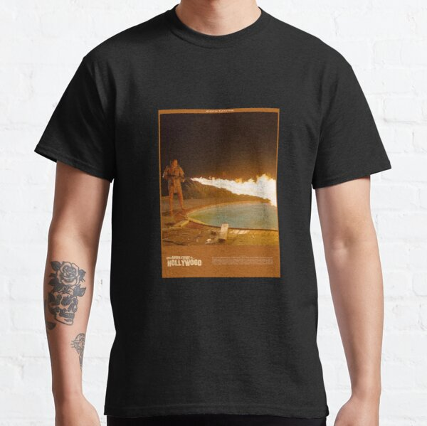Affiche custom ONCE UPON A TIME IN HOLLYWOOD T-shirt classique