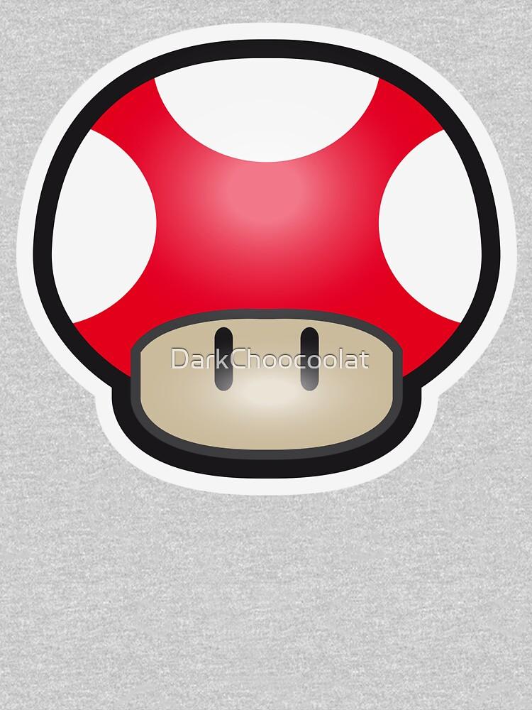 Red Mushroom by DarkChoocoolat