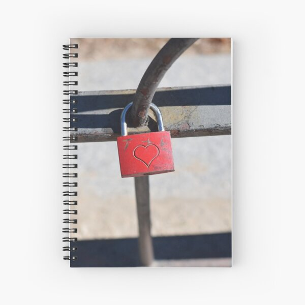 LoveLock Spiral Notebook