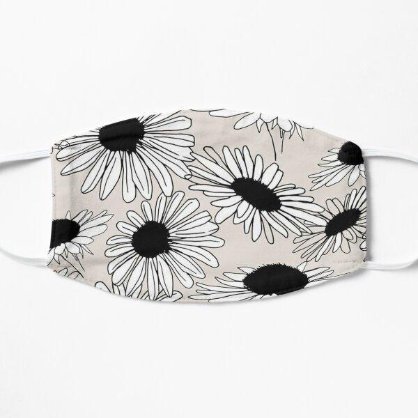 Silhouette Sunflower Prints Flat Mask