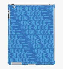 Video Game Controllers - Blue iPad Case/Skin