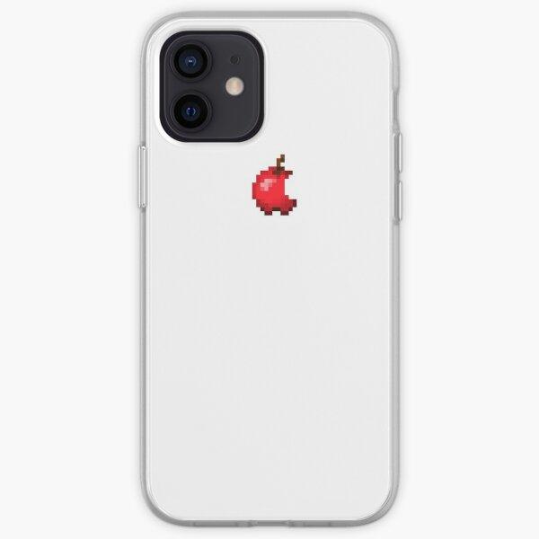 Minecraft Apple Logo iPhone Soft Case