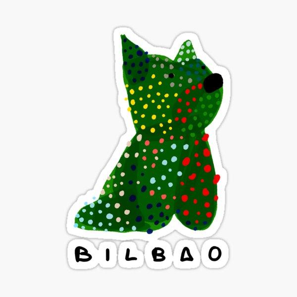 Puppy | Bilbao Sticker