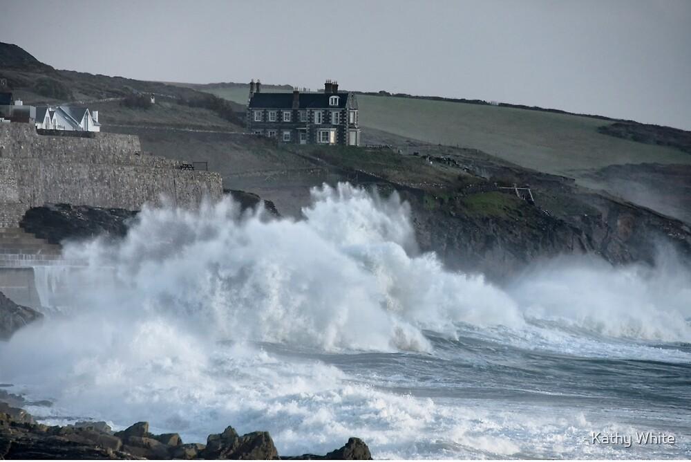 Storm in Cornwall by kathleenjean