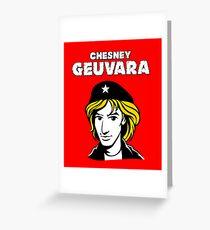 Chesney Hawkes Che Geuvara Greeting Card